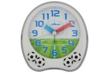Atlanta Kinderwecker weiß ohne Tickgeräusch Wecker Fußball Lernuhr 1719-0F