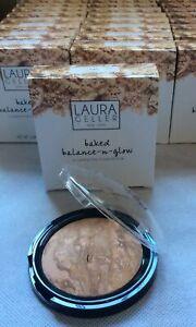 LAURA GELLER Baked Balance-n-Glow Illuminating FOUNDATION in TAN 8g