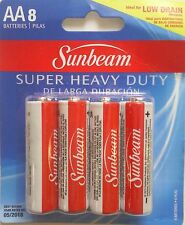 "Sunbeam Super Heavy-Duty ""AA"" Batteries, 8-ct. Packs"