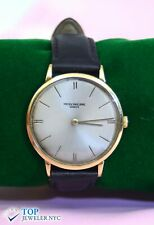 Classic Patek Philippe Geneve Watch 18K Yellow Gold
