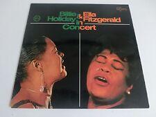 Billie Holiday & Ella Fitzgerald In Concert Verve 711043 Jazz LP