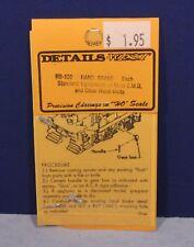 Hand Brake EMD & Other Hood Units - 132 - HO Scale Diesel Part - Details West