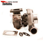 Universal Turbo T3T4 T04E T3 .50 A/R .63 5 bolt Flange Turbocharger Oil cooled