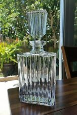 Exquisite BACCARAT Glass HARCOURT Crystal DECANTER & STOPPER