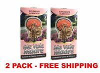 2 PACK ME VALE MADRE Tablet 2 Month Stress, Nervios, Dolor de Cabeza y Mas 120ct