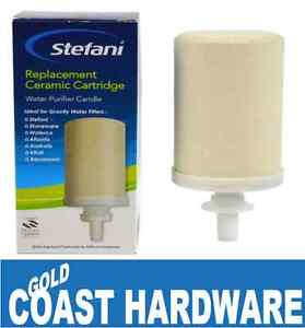 GENUINE Stefani Ceramic Water Purifier Replacement Cartridge Candle