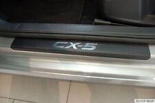 Carbon Chrom Style  Einstiegsleisten Mazda CX-5 II KF ab bj.05.2017 Carbonfolie