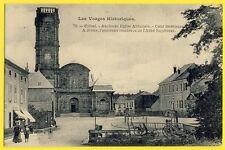 cpa ÉTIVAL CLAIREFONTAINE (Vosges) ABBAYE SAINT PIERRE avant sa Destruction
