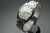 Vintage 1969 JAPAN SEIKO LORD MATIC WEEKDATER 5606-7000 25Jewels Automatic.