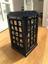 More details for doctor who 50th anniversary danbury mint badge collection complete with tardis