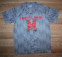 Men's UNDER ARMOUR HEAT GEAR LOOSE UNIVERSITY OF MARYLAND T-SHIRT -SIZE SM