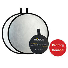 """FACTORY SECOND: Rogue 32"""" Super Soft Silver/Natural White Collapsible Reflector"""