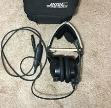 Bose AHX-34-01 Aviation Headset Lemo Plug