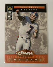 1994 Collector's Choice Crash the Game John Elway #C6 Denver Broncos with case