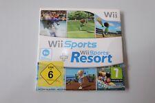 Wii Sports und Wii Sports Resort Nintendo Wii 2in1 mit OVP