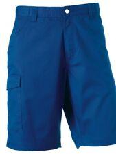 Premium Russell 002M Polycotton Twill Workwear Shorts Teflon Cotton Twill 38R