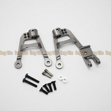 Alloy Front Shock Hoops set Grey for Axial SCX10 II