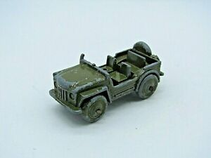 EARLY VINTAGE BENBROS AUSTIN GREEN ARMY JEEP
