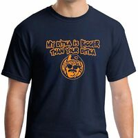 MY DITKA IS BIGGER THAN YOUR da Bears jersey retro mike football T-SHIRT