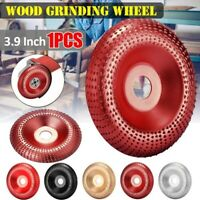 100mm Grinding Wheel Wood Sanding Carving Shaping Disc For Angle Grinder Tools