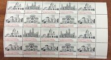 1980 USA architecture- block of 20 MUH