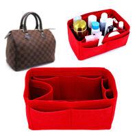 Felt Cloth Insert Organizer Portable Cosmetic Handbags For New Speedy 25 30 35