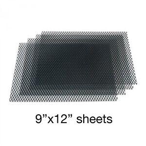 Black Grill Mesh 9 inch x 12 inch - 4 Sheets UGMBK2 custom muscle