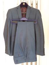 """Next men's blue suit - jacket 36"""" slim fit, trousers 30w 31IL - VGC - worn twice"""