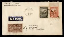 DR WHO 1947 HAITI OUANAMINTHE AIRMAIL TO USA  g17857
