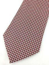 Vintage 1970's Kipper Mens Necktie Wide Neck Tie Houndstooth Jacquard Weave