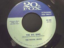 Royal Jacks-I'm in love again / Big Ring 45 rare Doo wop  orig 20th Century #100