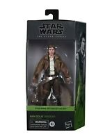 "HAN SOLO ENDOR TRENCHCOAT #05 Black Series Star Wars 6"" Figure 2020 ROTJ"