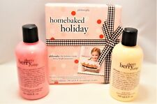 PHILOSOPHY Cherry Berry Crisp Holiday Gift Shampoo Shower Gel & Body Lotion SET