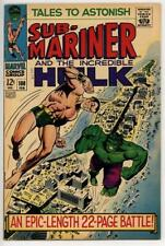 Tales To Astonsih #100 FN+ Hulk VS. Submariner