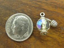 Atomizer Spray Austrian Crystal charm Vintage sterling silver Antique Perfume