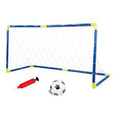 85d0a3ba580fd2 Porta da calcio per bambini-Set rete da calcetto con gonfiatore e pallone