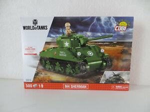 Cobi 3007A M4 Sherman Bausatz