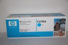 Toner ORIGINAL HP C4192A Cyan pour Laserjet 4500 & 4550