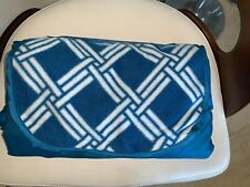Picnic Outdoor Blue Blanket Park Beach Mat For Camping On Grass Over