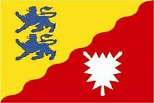Fahne Flagge Kreis Rendsburg-Eckernförde 150 x 250 cm Bootsflagge Premium