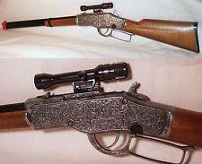 Toy Gun uses Stirip Caps Cap Gun Lever Action Rifle 20005