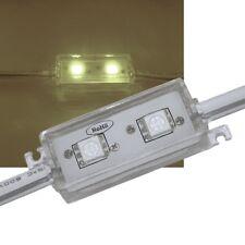 20 Uds. SMD LED Módulo Blanco Cálido / 2 capas 5050 SMD / 12v IP65 / Tira Barra