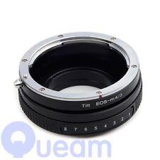Inclinación Canon EOS EF Lente Micro 4/3 M43 Adaptador E-PL5 E-PM2 E-PL3 E-PM1 E-PL2