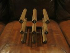 6 BOTTLE WINE RACK - TABLE TOP, WALL UNIT OR CELLAR