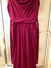 NWT Red Jumpsuit By Beige; Sz 1X; Sleeveless; Polyester; $60