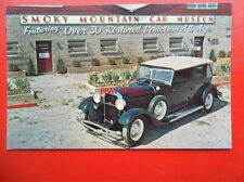 POSTCARD SMOKY MOUNTAIN CAR MUSEUM - 1931 LINCOLN SEDAN