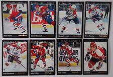 1993-94 Pinnacle Washington Capitals Team Set of 8 Hockey Cards