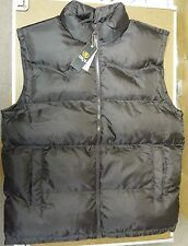 Men's Winter Bubble Vest Sizes XL, 2XL, 3XL in Black, Brown, Red, -New