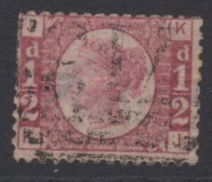 GB SG48 1/2d Rose-Red Plate 9  used