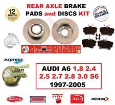 Für Audi A6 1.8 2.4 2.5 2.7 2.8 3.0 S6 1997-2005 Hinterachse Bremse Polster und